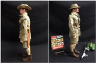 VINTAGE GI JOE - AUSTRALIAN JUNGLE FIGHTER - Soldiers of the World Foreign Head Figure